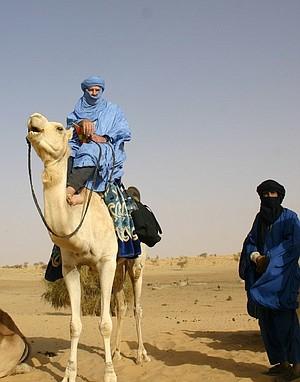 Sahara caravanning.