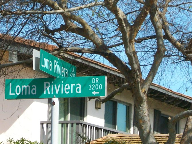 Loma Riviera in the Midway District.