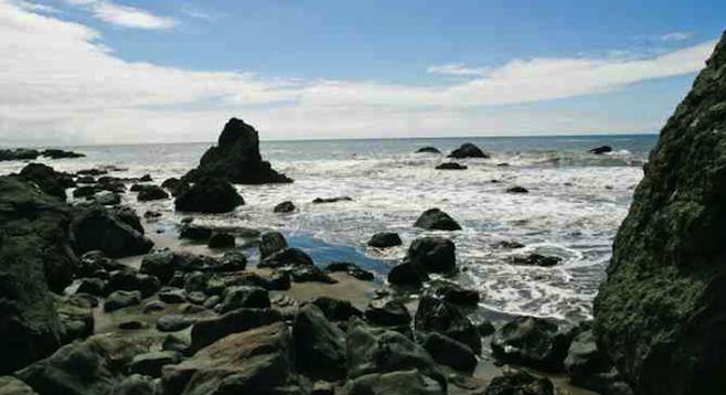 Rocky Sline Of Muir Beach A 40 Minutes Drive North San Francisco