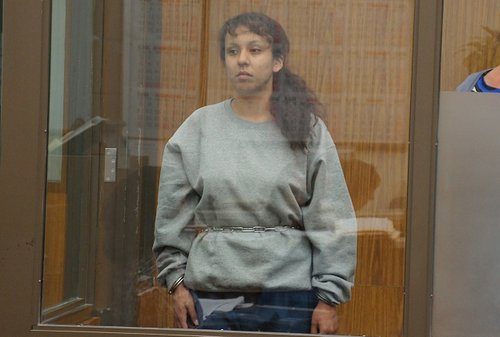 Ramona Elena Montes admitted felony graffiti. Photo Weatherston.