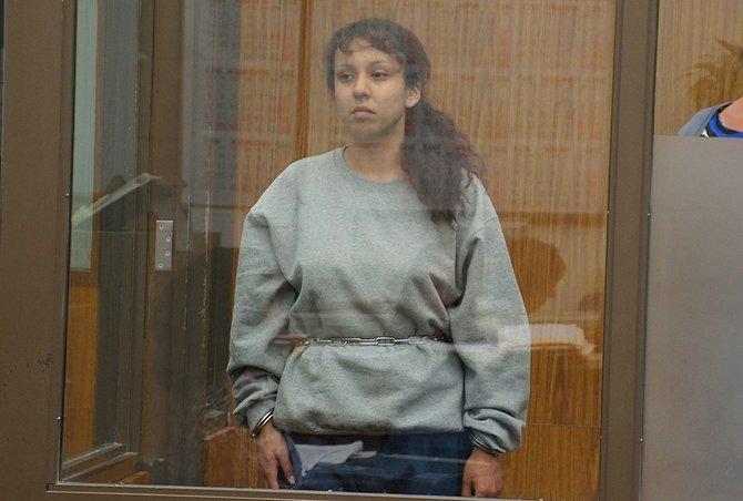 Ramona Elena Montes admitted felony graffiti. Photo Weatherston.