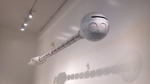 The space station from 2001: A Space Odyssey