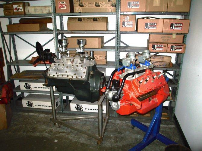 Winfield's Flathead Speed shop at the Petersen
