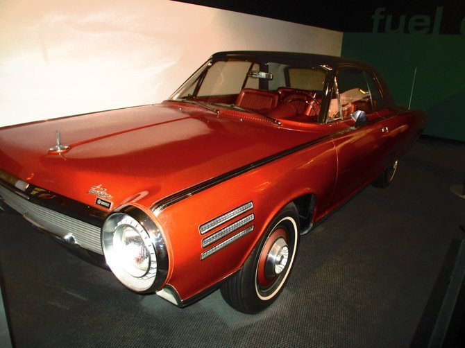 60's Chrysler Turbine at the Petersen Automotive.