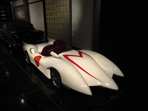 The Mach 5 (I was a HUGE speed Racer fan as a kid. My sons and I still watch)