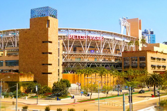 Petco Park in the afternoon.