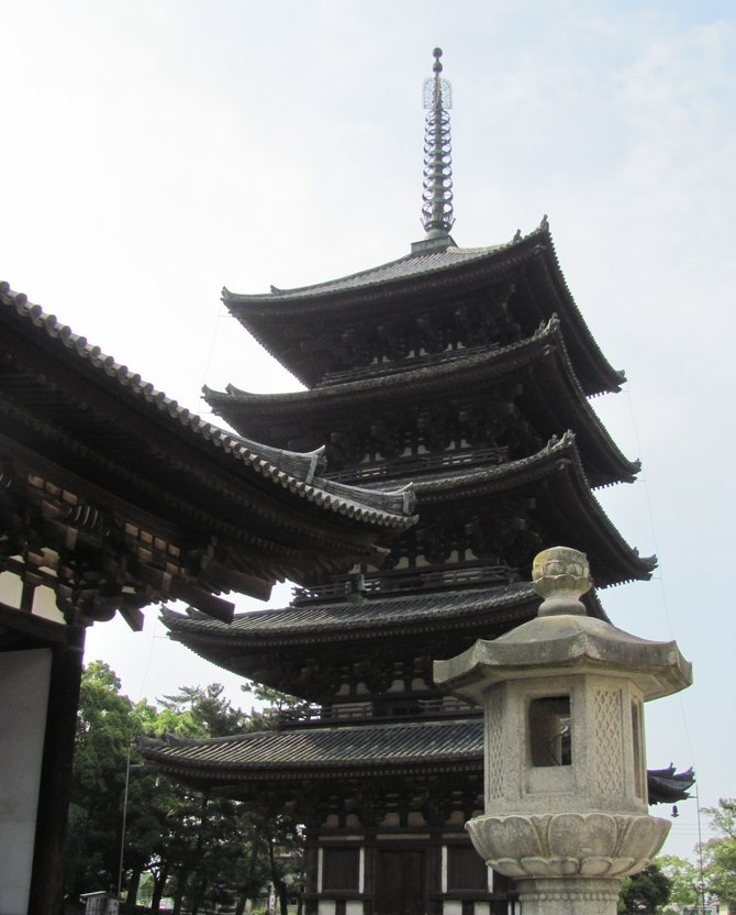 Kōfuku-ji pagoda.