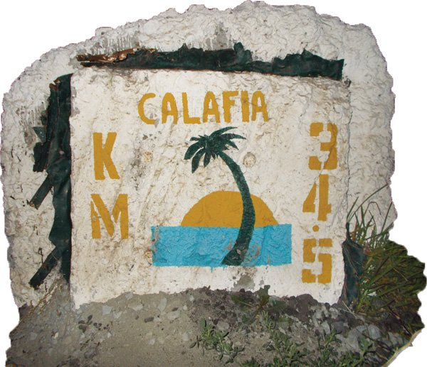 Milestone on the road to Calafia