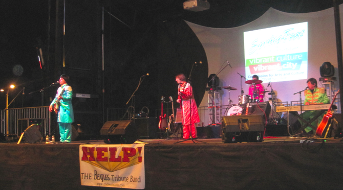 Beatles tribute band Help! at SpringFest 2013