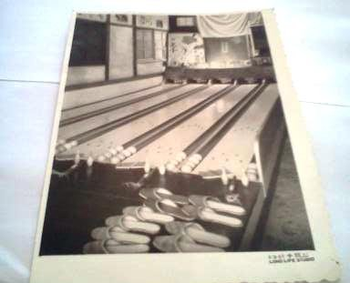 Home built bowling alley in Taiwan, Kaoshung by Mr, Fu Lo Wang 1967, Mr, Wang  visited America Navy bowling alley in Taipei, then went back  home Kaoshung ( south of Taiwan) and built this bowling alley for family and all friend's kids had lots of great fun.