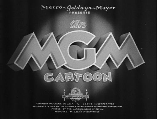 An MGM Cartoon (1939).