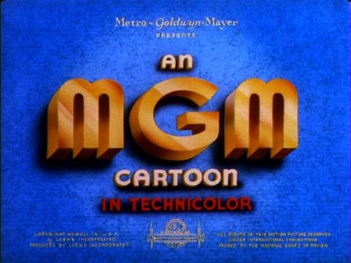 An MGM Cartoon (1941).
