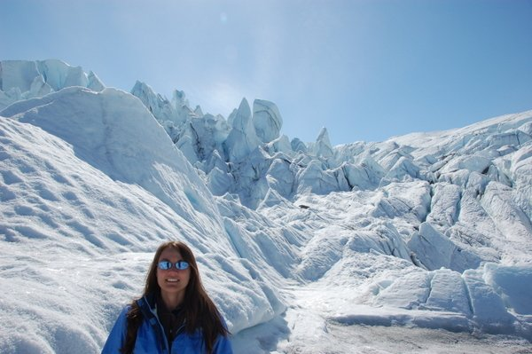Hiking Matanuska Glacier