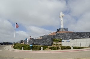 Mt. Soledad in La Jolla, California. Photo Weatherston.