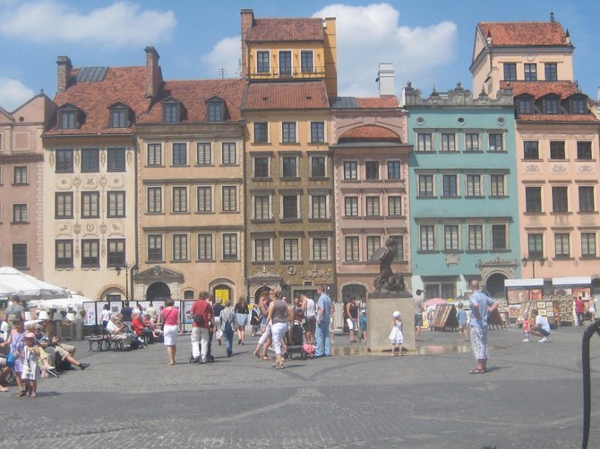 Old Warsaw square.