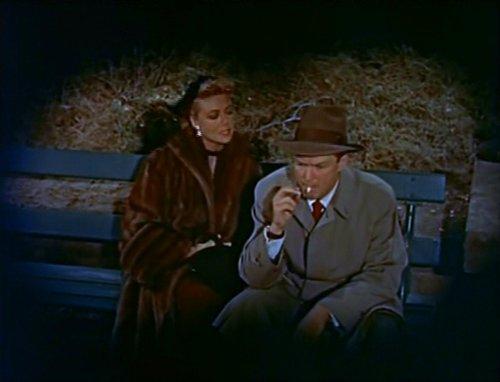 Dorothy Malone and Alex Nicol.