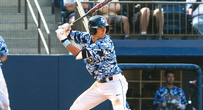 USD Torero Kris Bryant hits home runs. This season he has out-homered 227 of 296 teams in Division I.