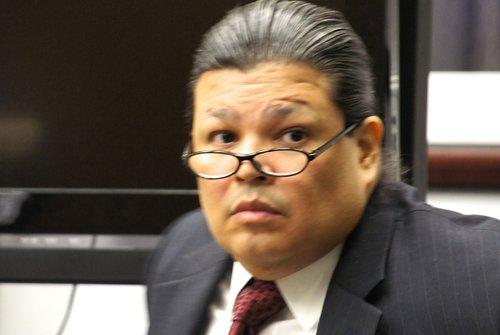 Daniel Hood pleads not guilty. Photo Weatherston.