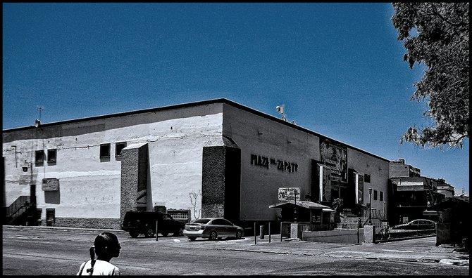 Neighborhood Photos TIJUANA,BAJA CALIFORNIA Shoe's Plaza in Tijuana's Zona Rio,its a shopping center that has seen better times/Plaz del Zapato es un centro comercila en Zona Rio,Tijuana tha a visto mejores epocas.