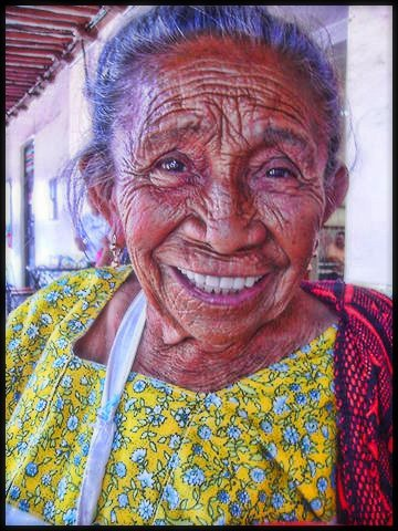 Travel Photos MERIDA,YUCATAN,MEXICO Portrait of street sales lady in Merida,Yucatan,Mexico/Retrato de vendedora ambulante en Merida,Yucatan,Mexico