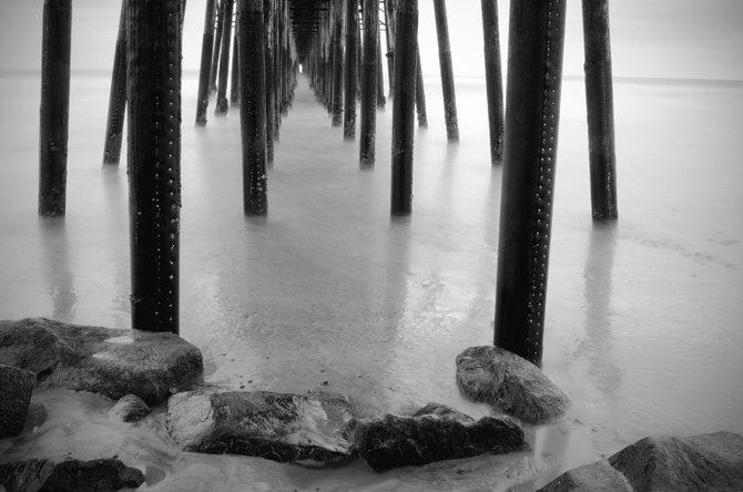 Surreal Pier:  The Oceanside Municipal Pier