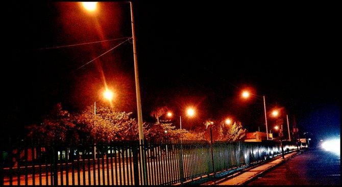 Neighborhood Photos TIJUANA,BAJA CALIFORNIA Night view of ITT University in Tijuana/Vista nocturna de Instituto Tecnologico de Tijuana