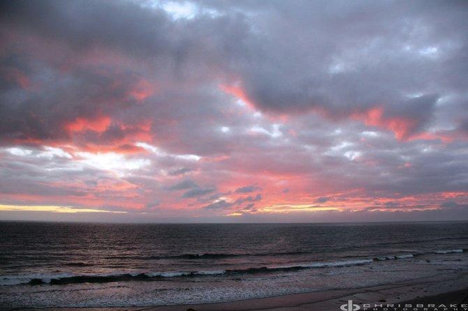 Fire Clouds in Tourmaline Beach