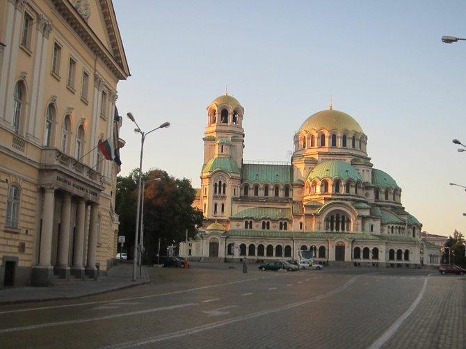Alexander Nevski Cathedral, Sofia, Bulgaria.