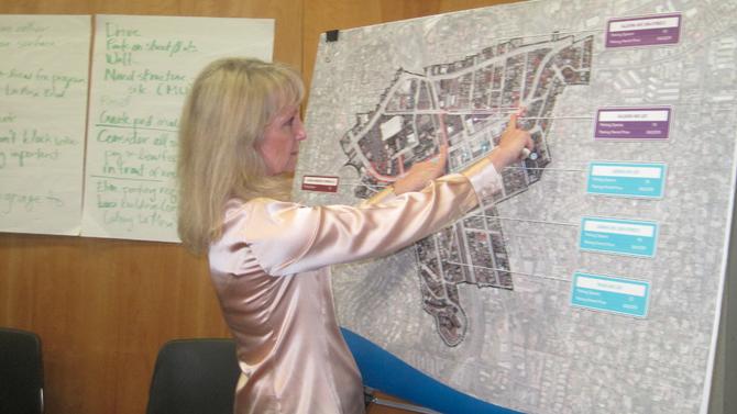 Karen Gulley of the Planning Center