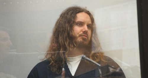 TImothy Lambesis bailed out of Vista jail on May 30, 2013.  Photo Weatherston.