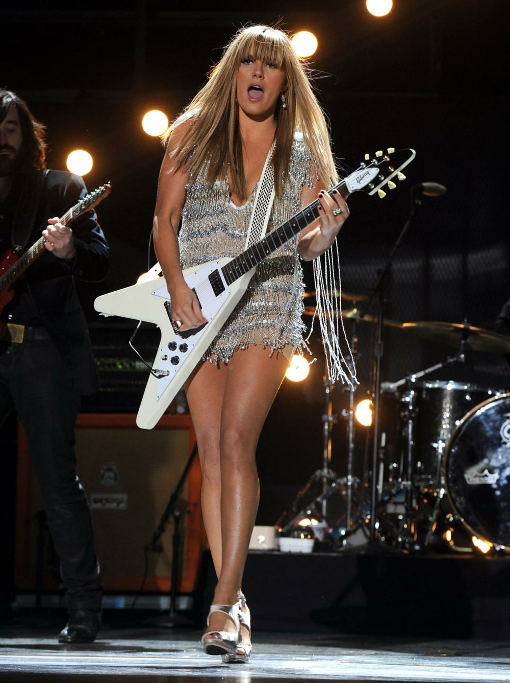 Blues-rock band Grace Potter & the Nocturnals grace the stage at Humphreys by the Bay on Thursday.