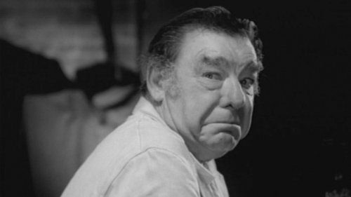 "Lon Chaney, Jr. in Jack Hill's ""Spider-Baby."""