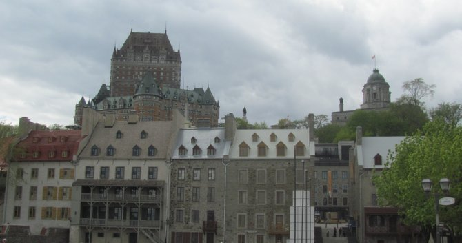 A view of Old Québec.