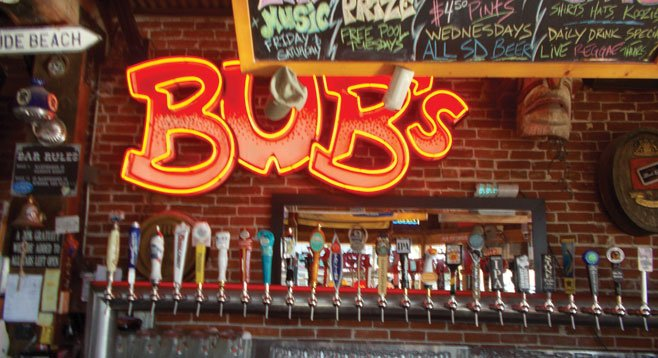 Oceanside's Pierview Pub has an alter ego: Bub's Whiskey Dive.