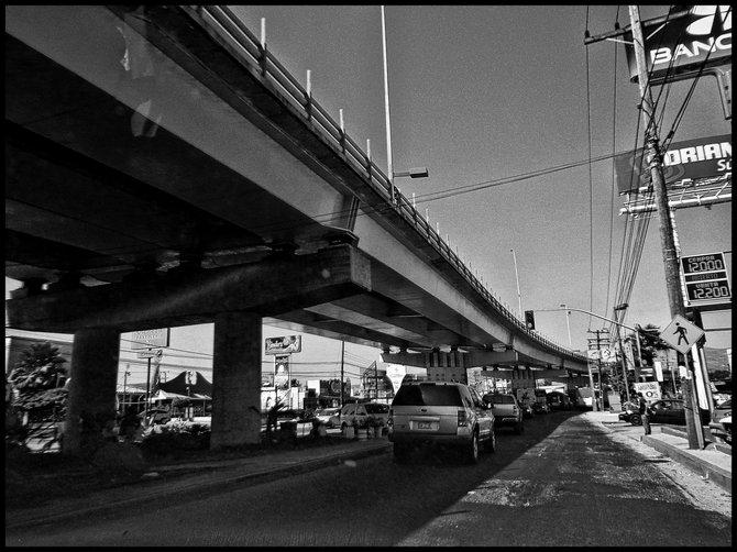 Neighborhood Photos TIJUANA,BAJA CALIFORNIA Vehicular bridge in Otay section of Tijuana/Puente vehicular en Otay,Tijuana.