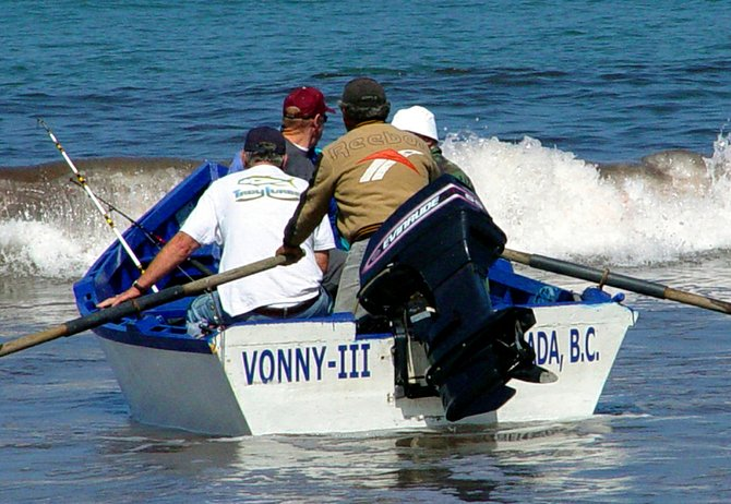 The panga is a sturdy, dory-like boat that has been used for inshore fishing along the Baja coast for decades.
