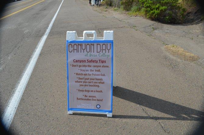 Canyon Days sign near Mesa College in Linda Vista.