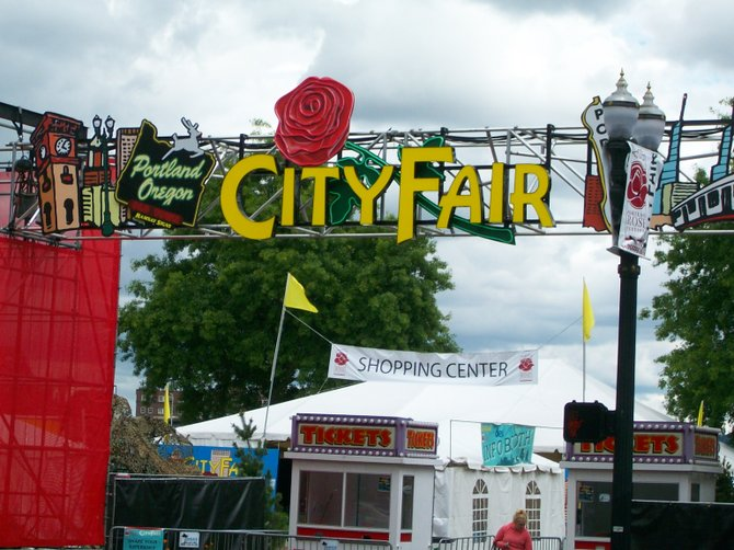 City Fair in Portland, Oregon.