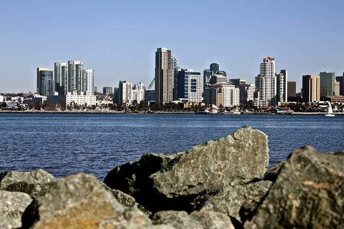 Downtown view from across the bay