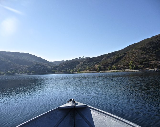 Alone on Lake Poway