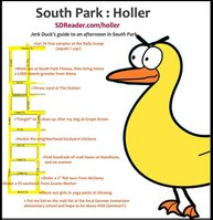 Jerk Duck's Guide to an afternoon in South Park