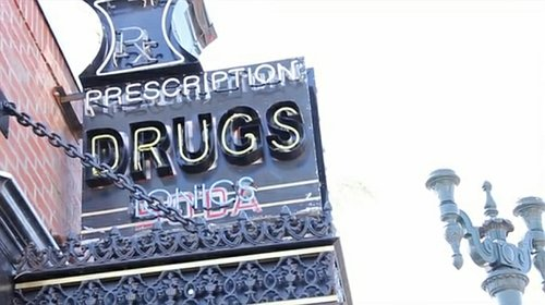 There's even an anti-drug message. Or is it pro?