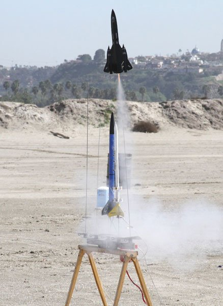 The Diego Area Rocket Team (DART) launches rockets capable of reaching 1500 feet.
