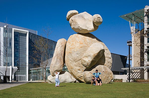 Bear is one of the 18 works in UCSD's Stuart Collection of large-scale artworks spread along a 3.4-mile campus loop.