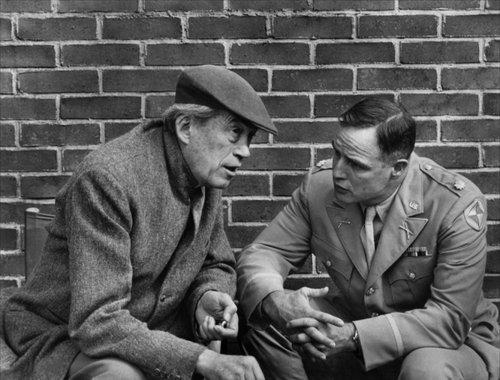 John Huston and Marlon Brando.