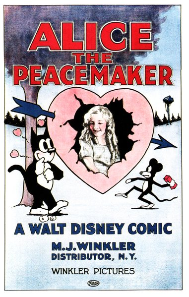 "Walt Disney's ""Alice the Peacemaker"" (1924)."
