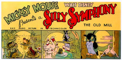 "David Hand's ""The Old Mill"" (1937). A Walt Disney Silly Symphony released through United Artists."