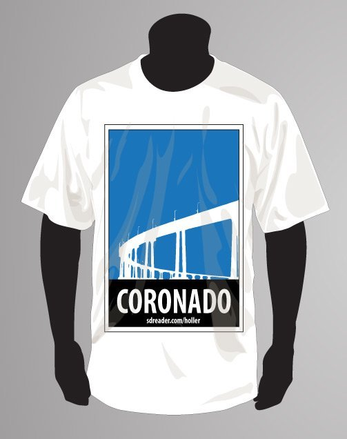 Coronado Holler T-shirt Entry