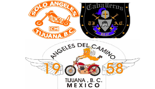 Among the many motorcycle clubs attending the bike fest