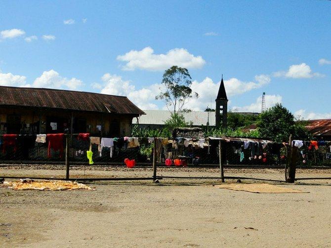 Andasibe village.